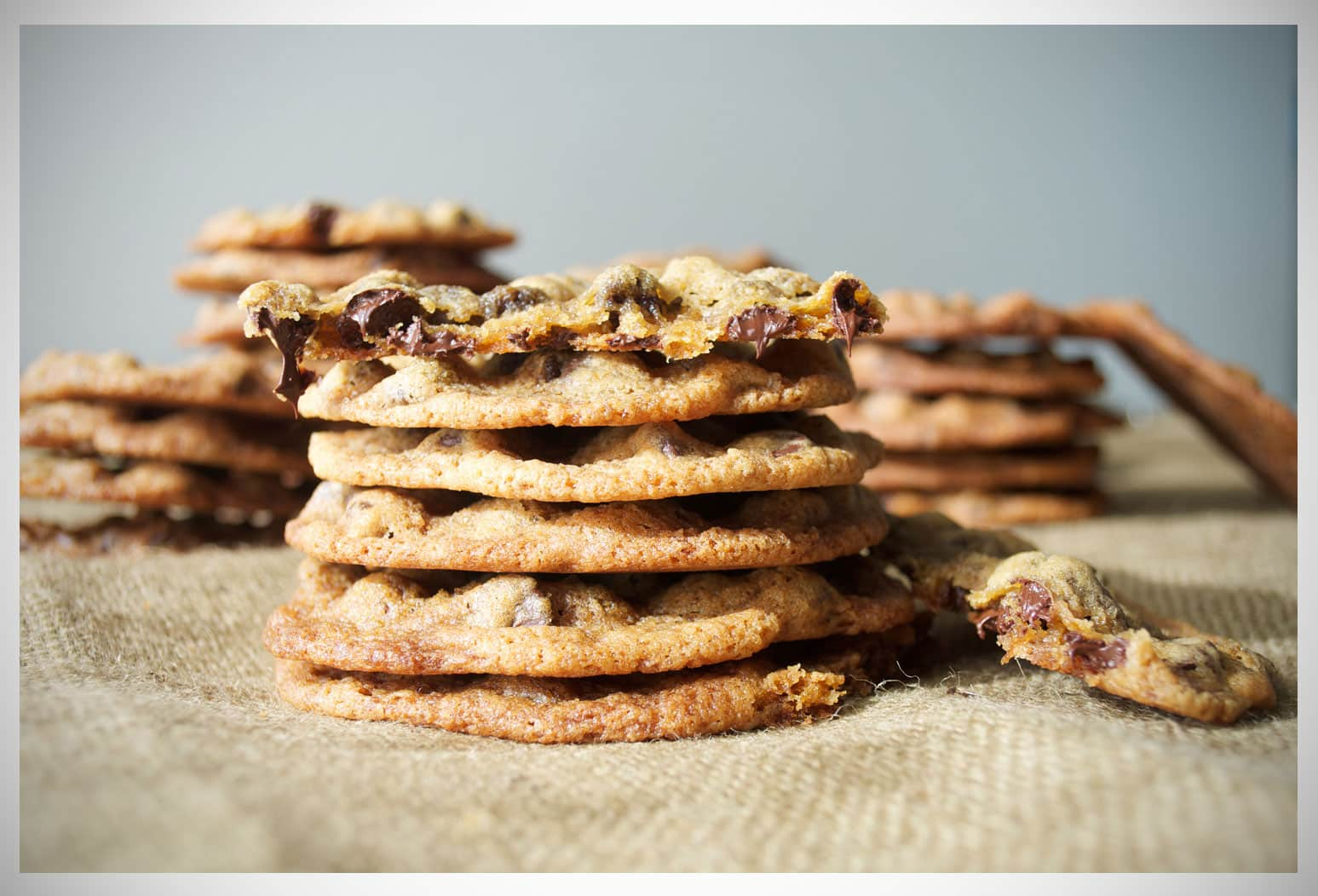 The Best Chewy Chocolate Chip Cookies | OfBatterAndDough.com