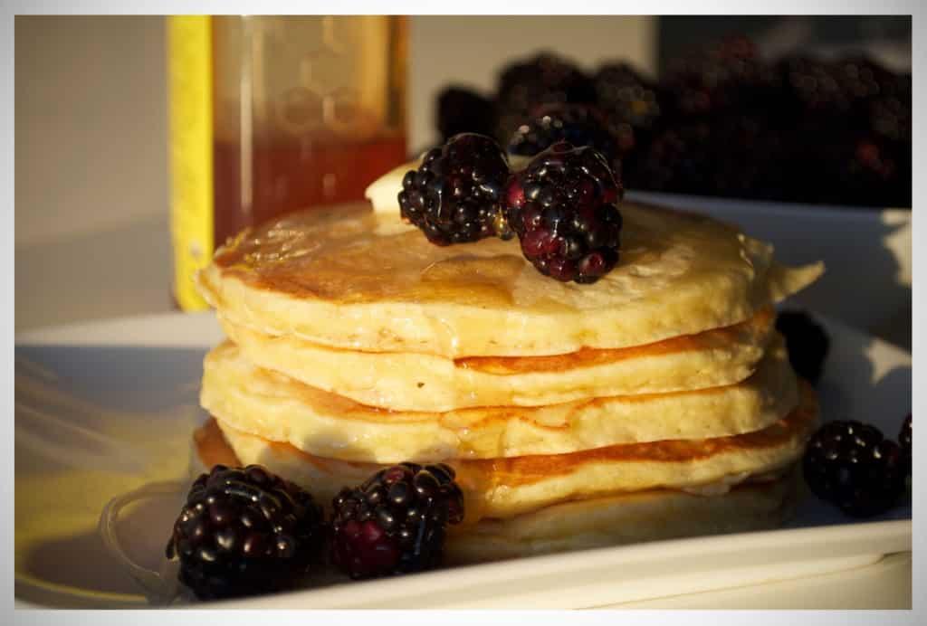 Best Quick Pancakes | OfBatterAndDough.com
