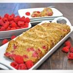 Raspberry Crumb Bread with Lemon Glaze recipe | OfBatterAndDough.com