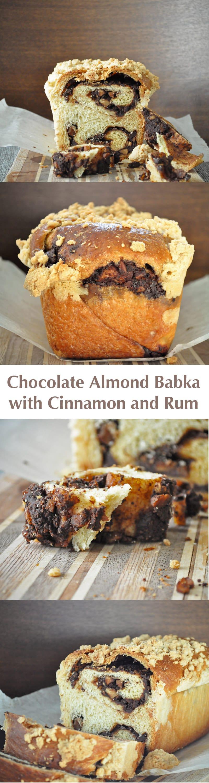 Chocolate Almond Babka Batter And Dough