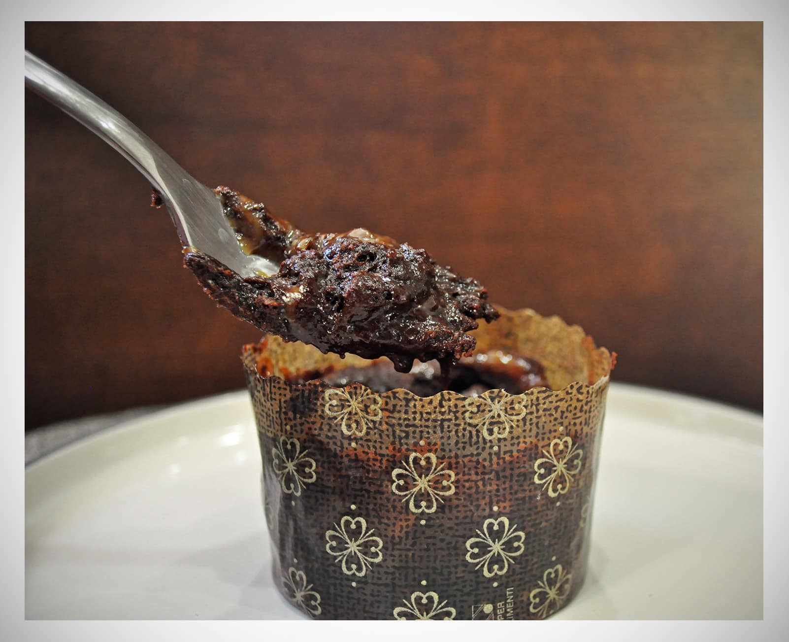 Molten Chocolate Caramel Cakes • Cakes   OfBatter&Dough