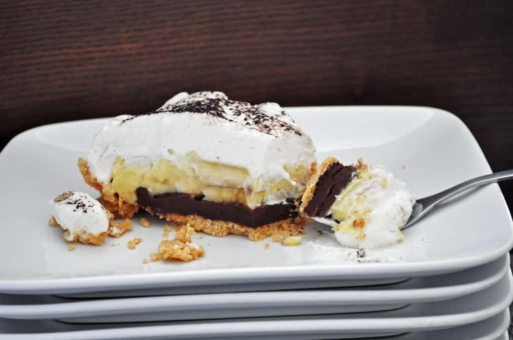 Easy Homemade Chocolate Banana Cream Pie Recipe