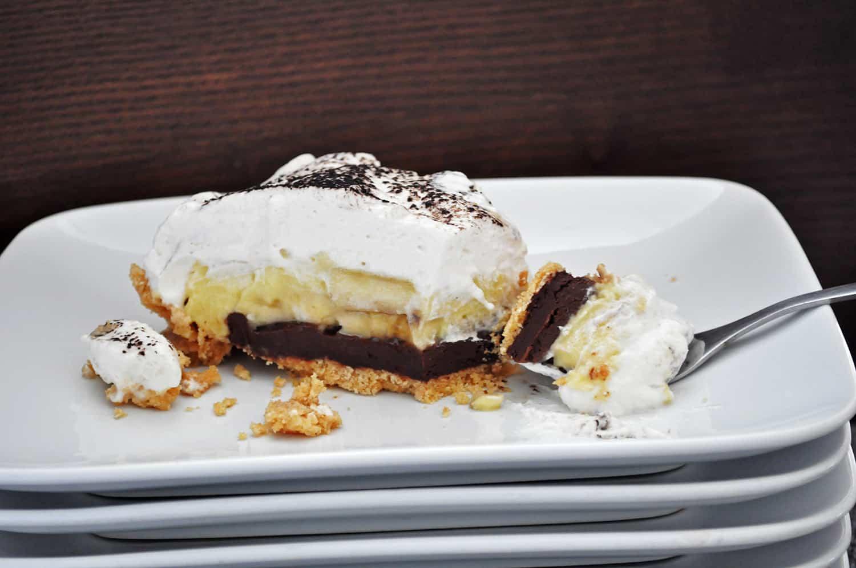 Easy Chocolate Banana Cream Pie Recipe • Pie