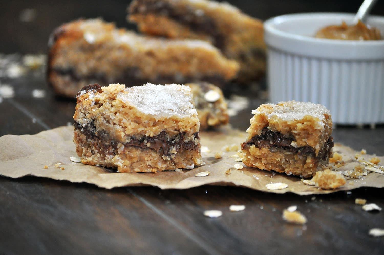 Oatmeal Peanut Butter Chocolate Scones