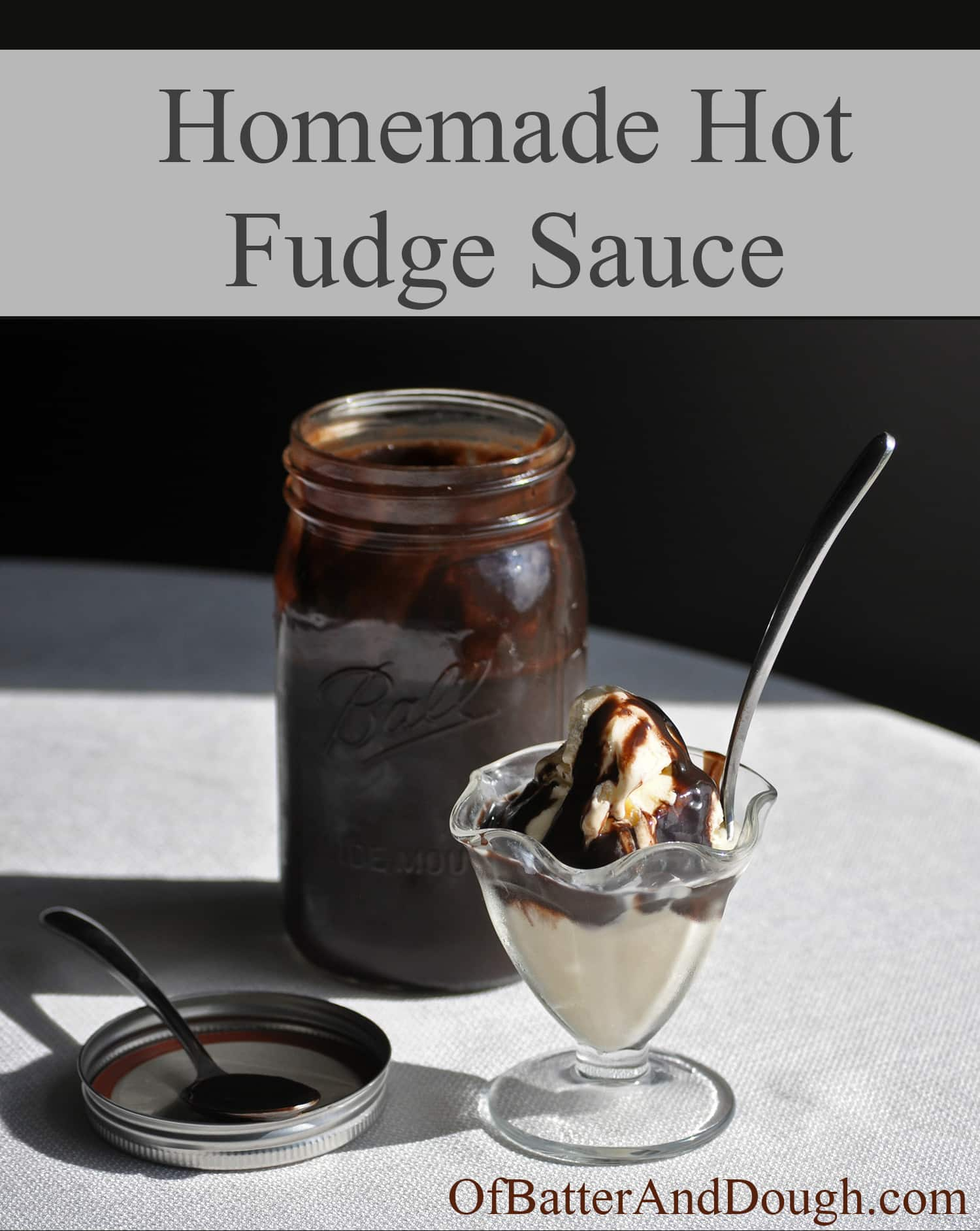Best of all, this homemade hot fudge sauce is incredibly easy.