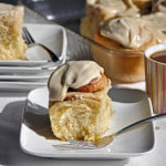 Overnight Homemade Cinnamon Roll Recipe