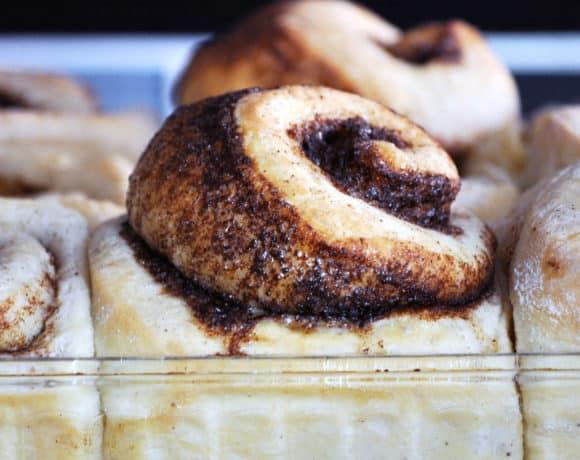 Overnight Homemade Cinnamon Rolls