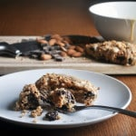 Vanilla Glazed Chocolate Almond Scones