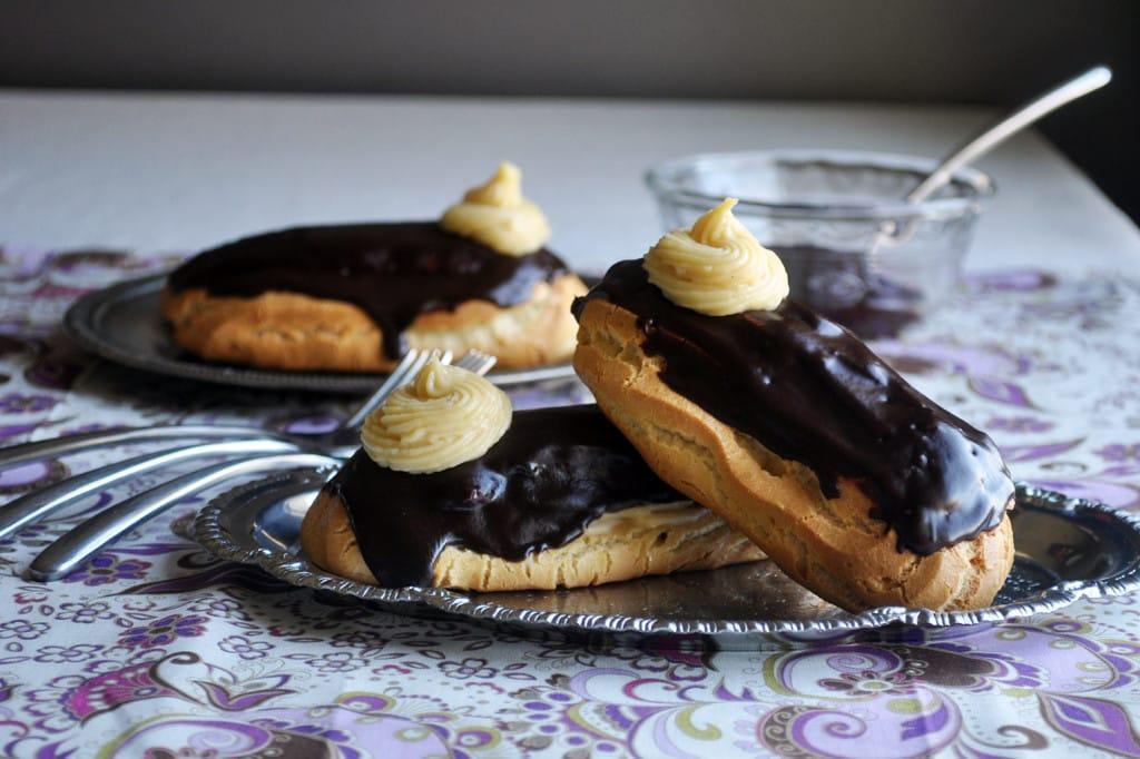 French Chocolate Eclair Cake
