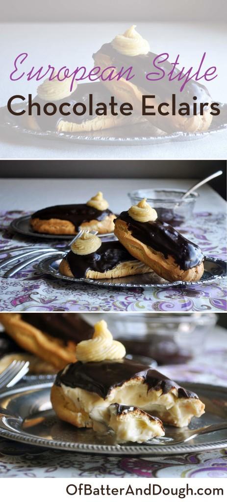 French chocolate eclair cake recipe