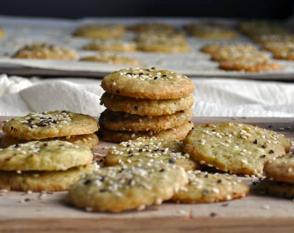 Homemade Cheese Crackers ~ Buttery, Tender, Flaky Crackers