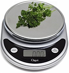 Kitchen scale for weighing homemade cheese crackers