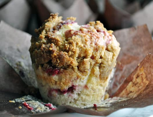 Mixed Berry Muffin Recipe | ofbatteranddough.com