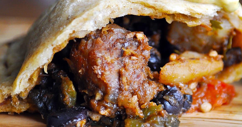 Potato, Pepper, And Chorizo Empanadas Recipe — Dishmaps