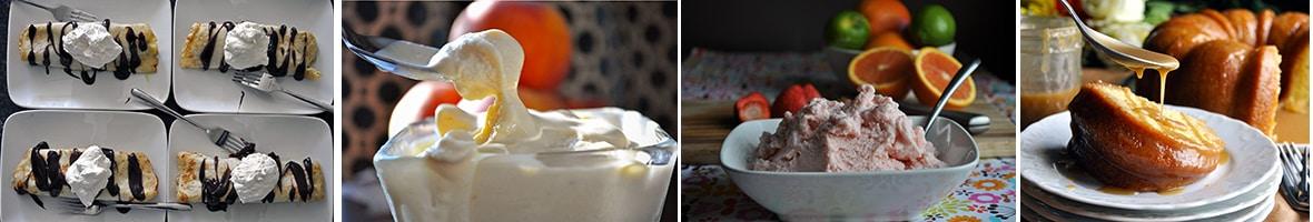 More ice cream recipes and butterscotch recipes | ofbatteranddough.com