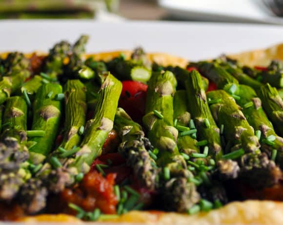 Savory Tart with Sausage, Vegetables & Cheese