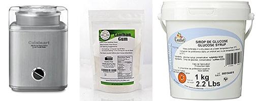 Homemade ice cream products | ofbatteranddough.com