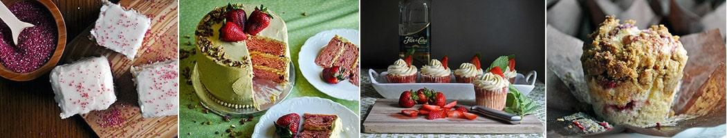 Strawberries and Cream Pie | more recipes | ofbatteranddough.com