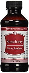 Strawberry Emulsion for Strawberries and Cream Pie | ofbatteranddough.com