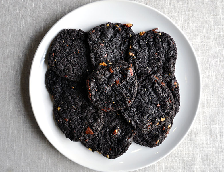 Chewy Chocolate Brownie Cookies Gluten Free | ofbatteranddough.com