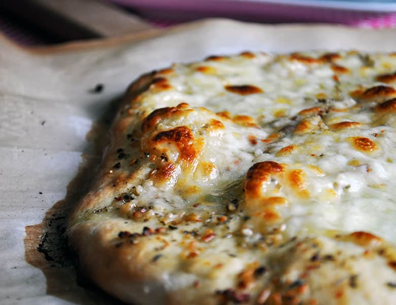 Homemade Pizza Dough Recipe, Quick and Easy | ofbatteranddough.com