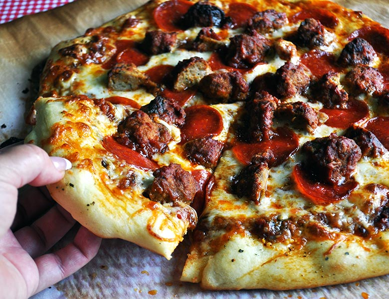 Homemade Pizza Dough Recipe - Batter and Dough