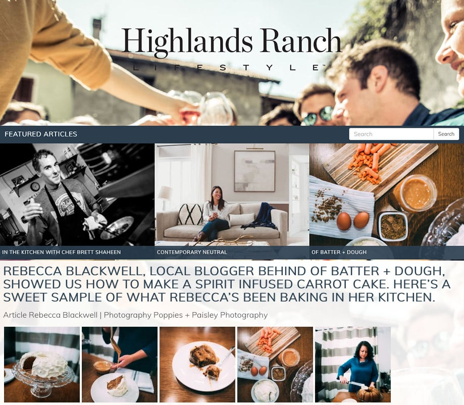 Lifestyle Magazine Featured Blogger | ofbatteranddough.com