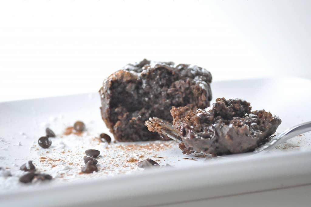 Gluten Free Double Chocolate Cinnamon Ricotta Muffins | OfBatterAndDough.com