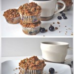 Gluten Free Blueberry Muffin Recipe with Streusel