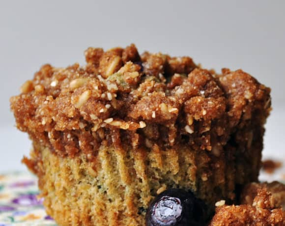 Gluten Free Blueberry Muffins With Streusel