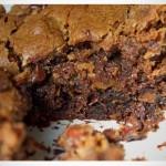 Chocolate Almond Brownie Cookie Bar recipe