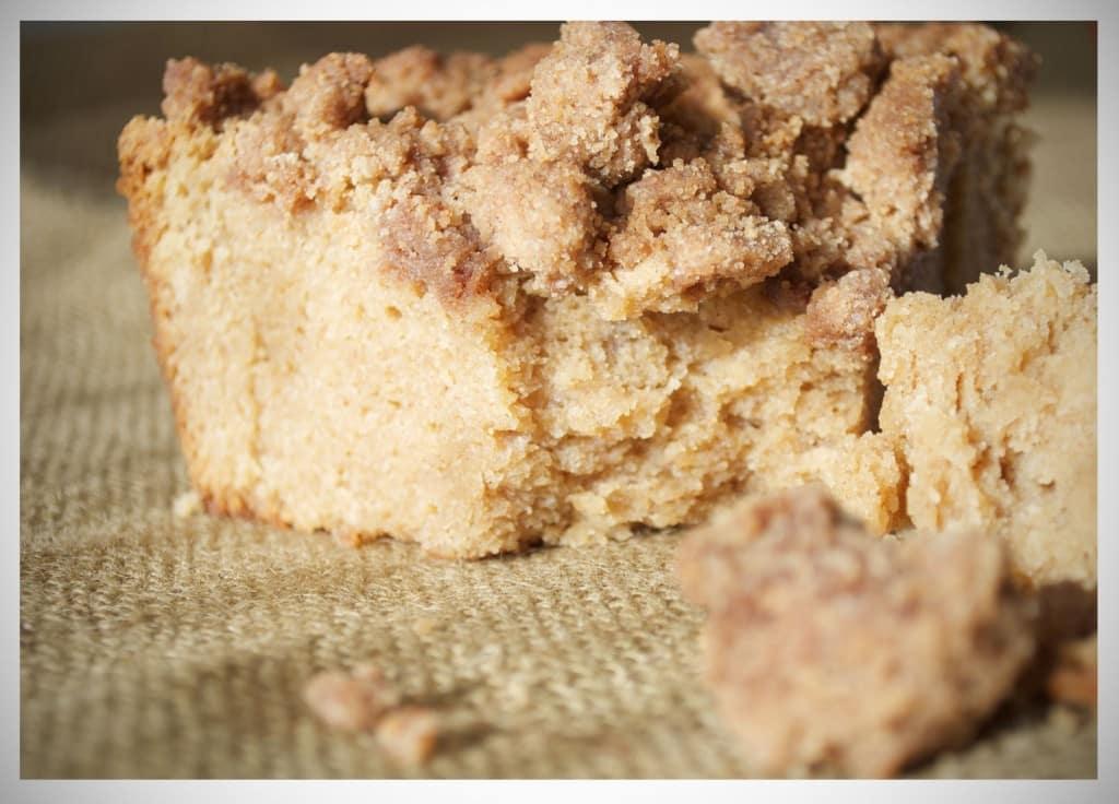 New York Style Brown Sugar Crumb Cake | OfBatterAndDough.com