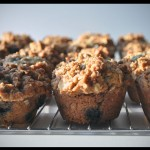Sour Cream Blueberry Muffin recipe with Streusel
