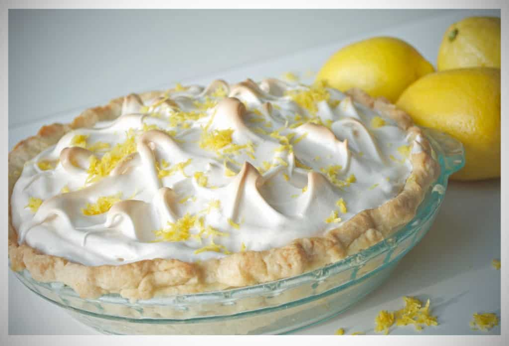 Lemon Meringue Pie | OfBatterAndDough.com