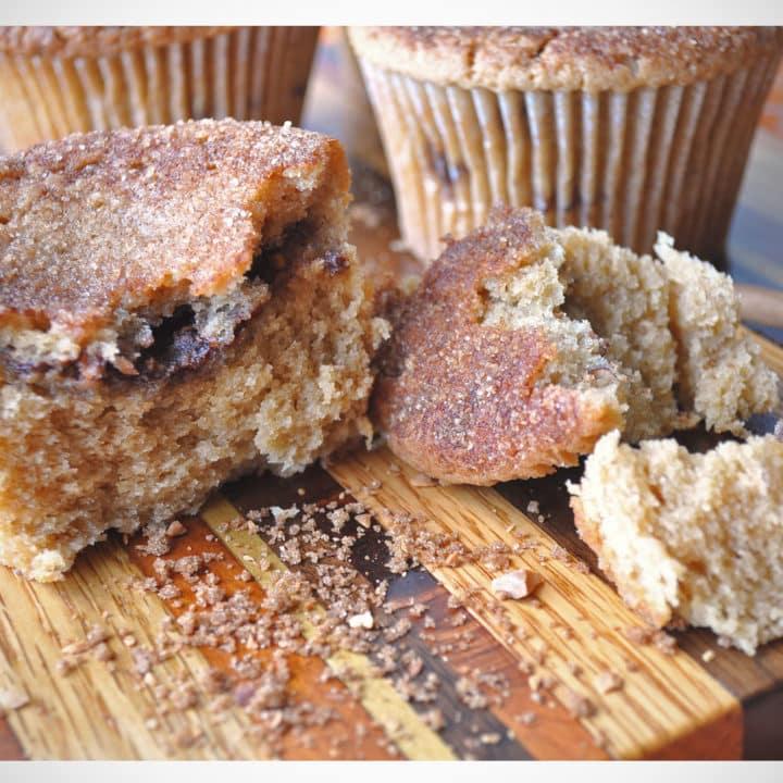 umbo Cinnamon Sugar Coffee Cake Muffin recipe