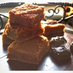 Salted Chocolate Caramel Blondies recipe | OfBatterAndDough.com