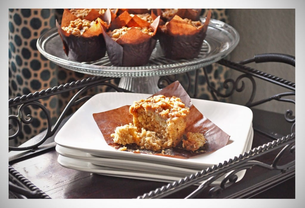 Banana Oat Muffins With Brown Sugar Streusel recipe