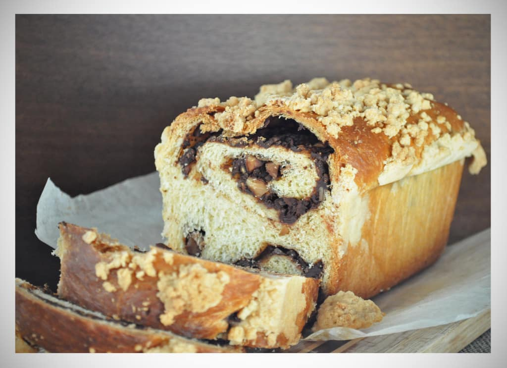 Chocolate Almond Babka