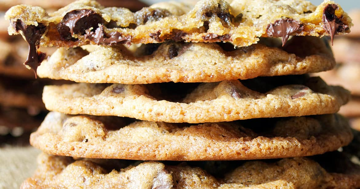 Best Chocolate Chip Cookies | ofbatteranddough.com