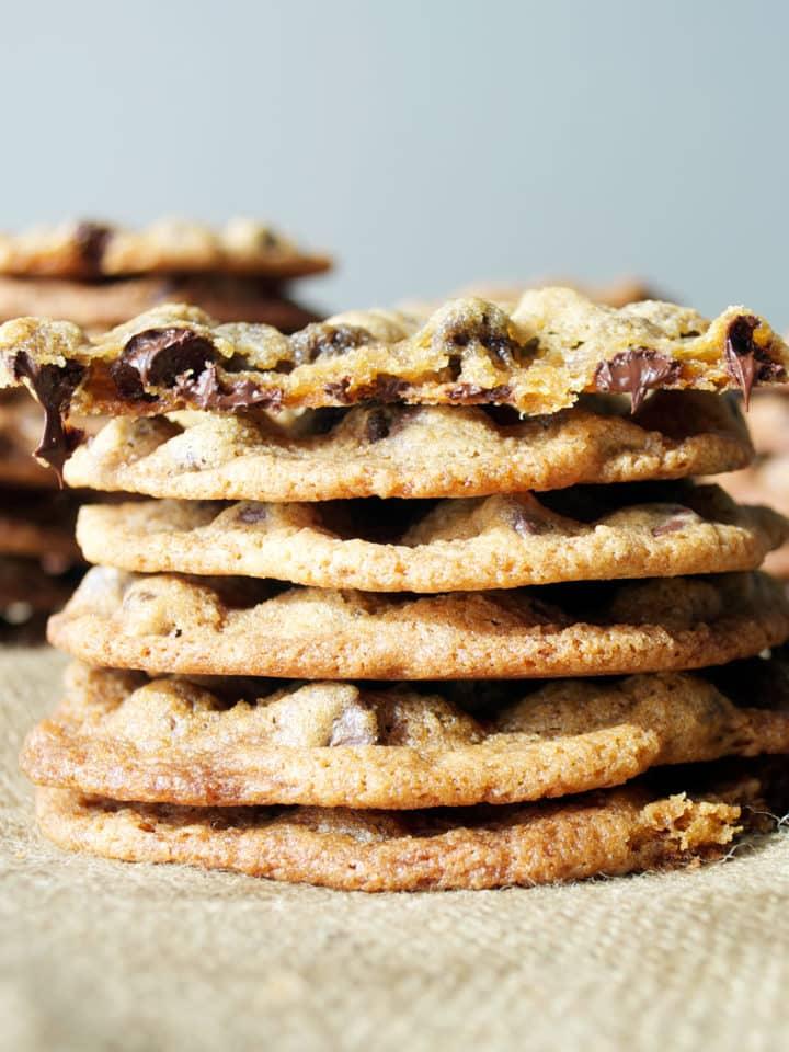 Best Chocolate Chip Cookies | ofbatteranddough.com