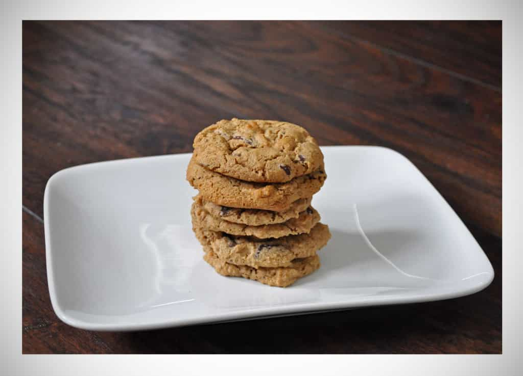 Gluten Free Ginger Chocolate Chip Cookies