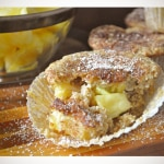 Gluten Free Low Sugar Pineapple Muffins
