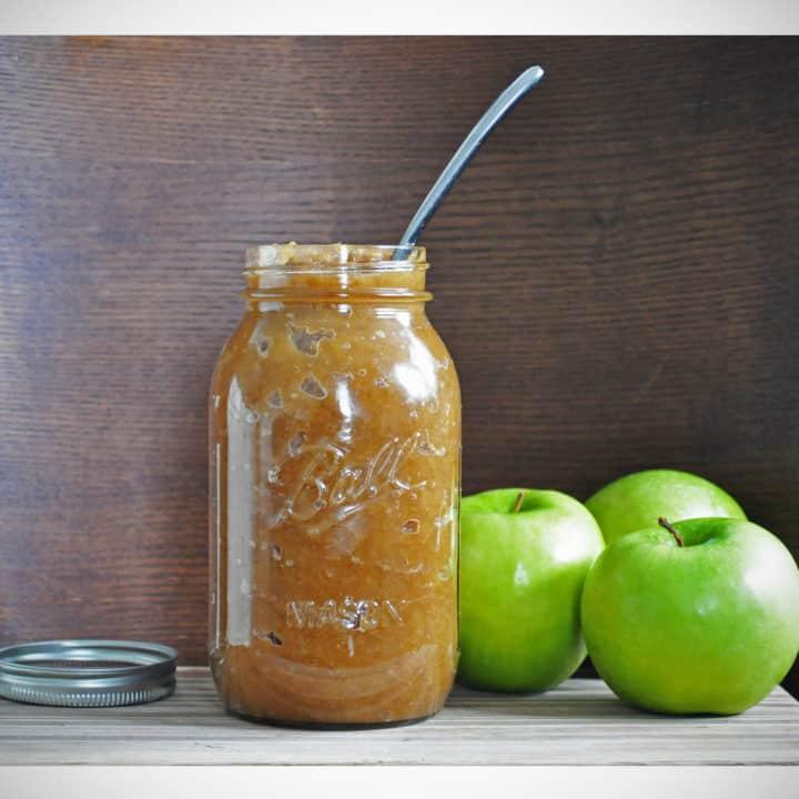 Sugar Free Homemade Applesauce