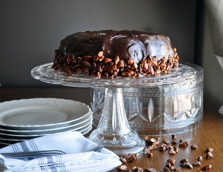 Best chocolate cake recipe | moist chocolate cake recipe | ofbatteranddough.com