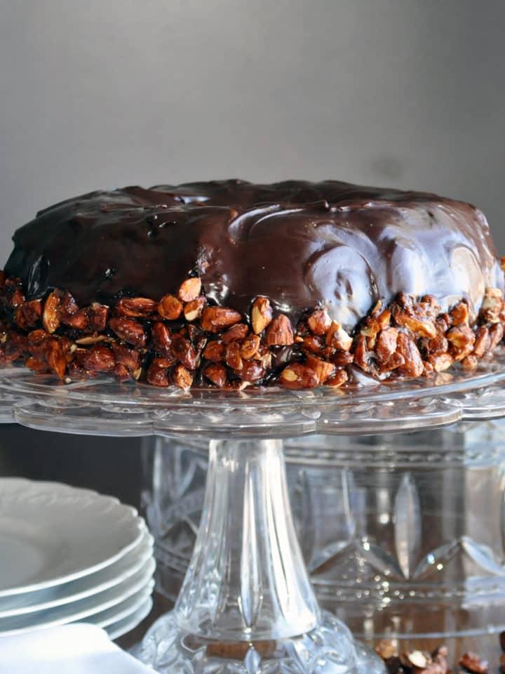 Best chocolate cake recipe | moist chocolate cake recipe | ofbatteranddough.com