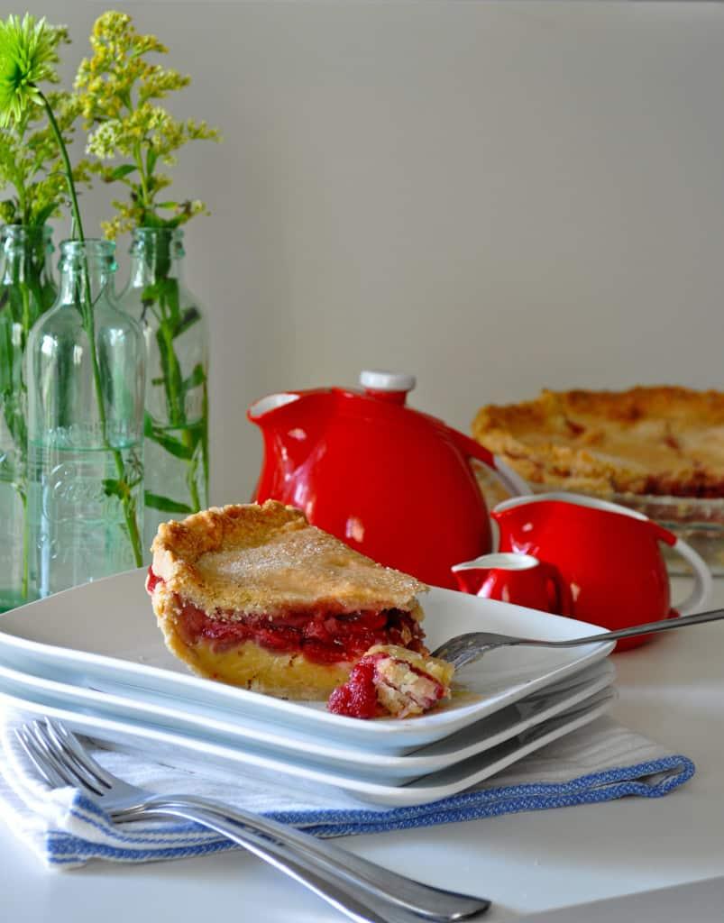 Strawberry Cream Pie | Strawberry Pie Filling