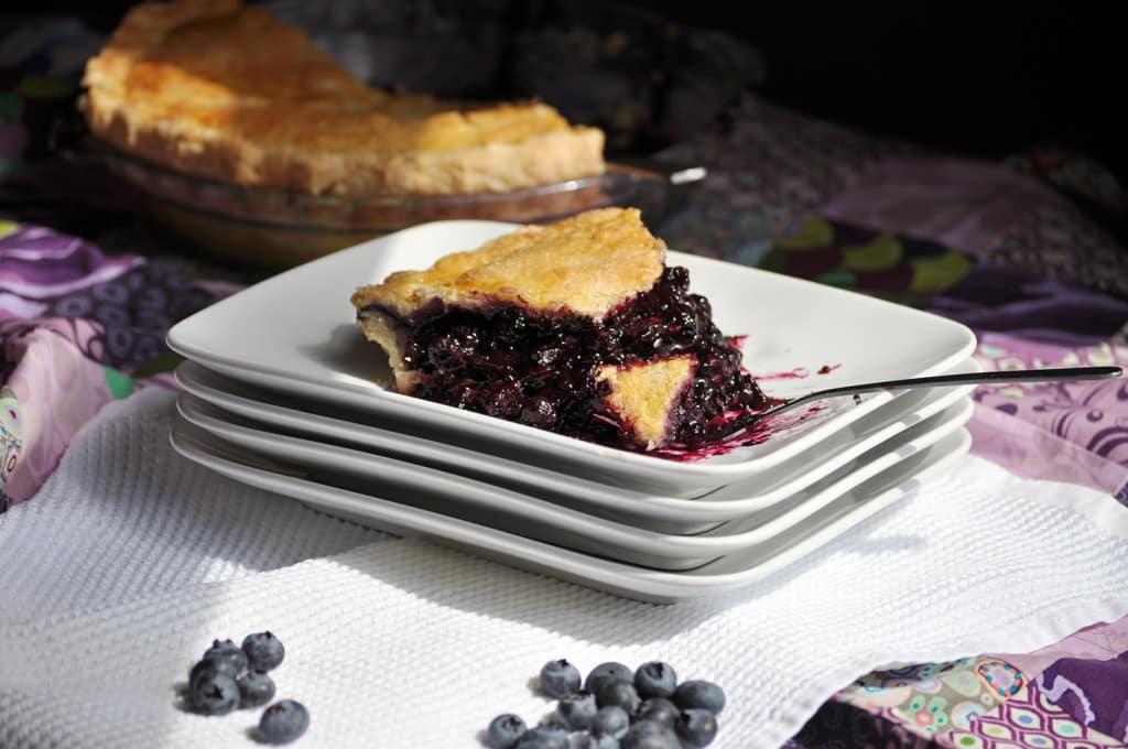 Homemade Fresh Blueberry pie