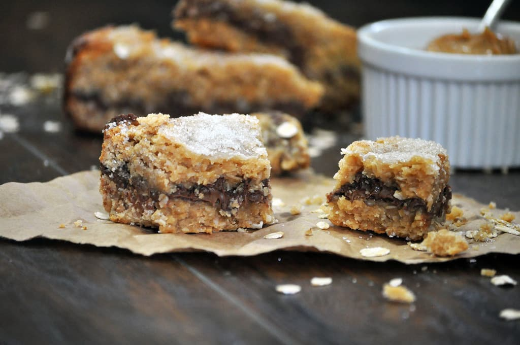 Oatmeal Peanut Butter Chocolate Scones