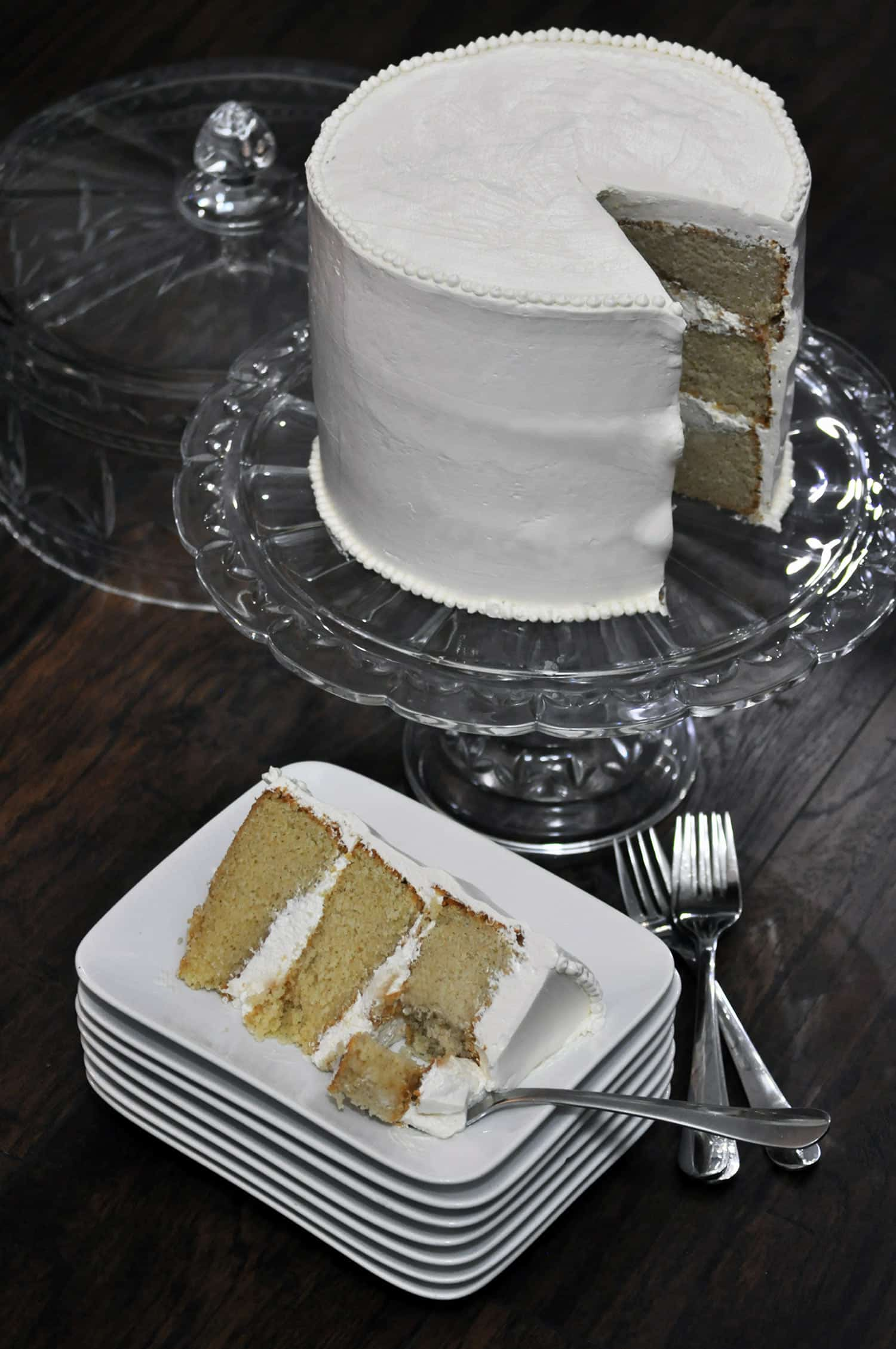 Best Vanilla Cake Recipe Ever Cakes OfBatterDough