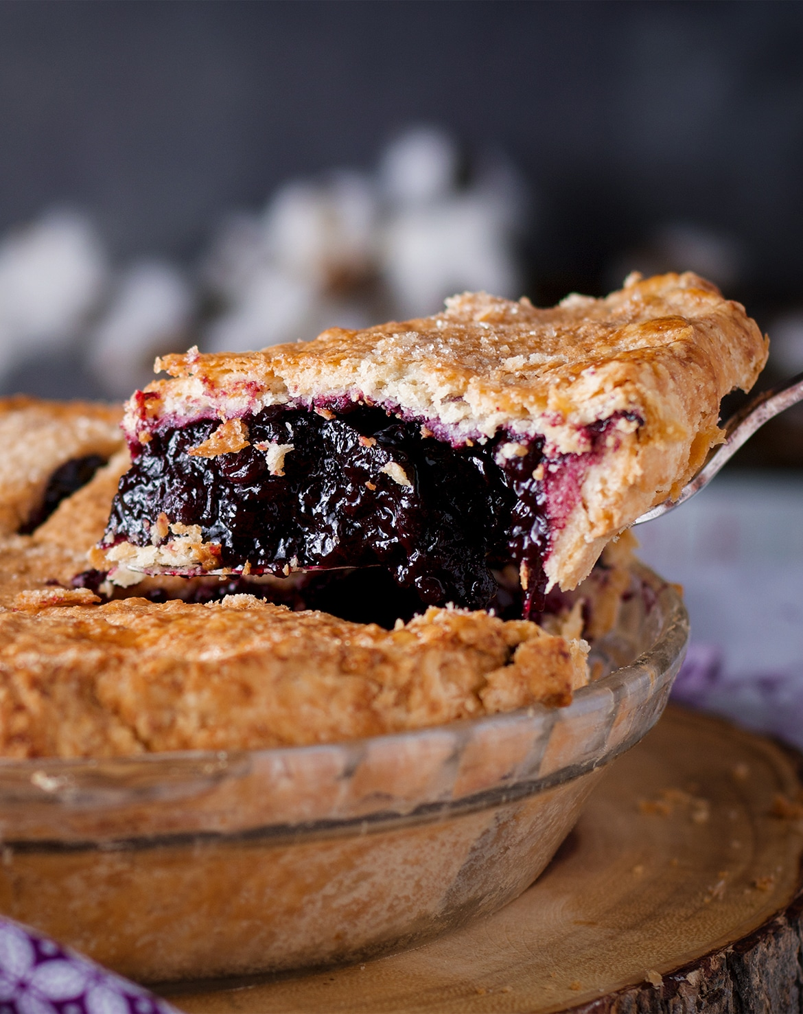 How to Make the Perfect Blueberry Pie {with fresh or frozen